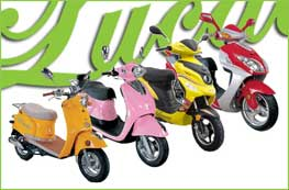 Italiaanse Scooters & Brommers